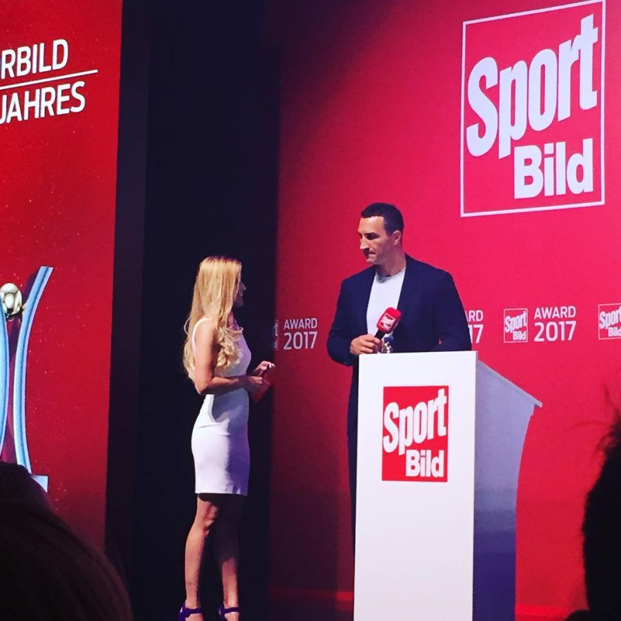 Role Model of the Year. Sport Bild Award