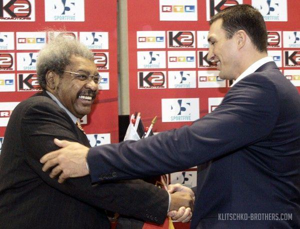 Дон Кинг требует у Кличко 5 миллионов и телеправа